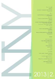 A Neveléstudomány folyóirat második lapszámának borítója