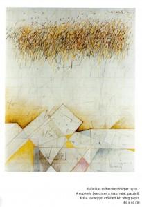 Bodóczky István Eufórikus méhecske térképet rajzol című munkája