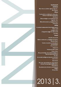 A Neveléstudomány folyóirat harmadik lapszámának borítója